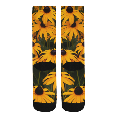 Black-eyed Susans Trouser Socks (For Men)