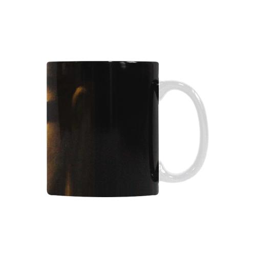 Ceramic Mug Gold Buddha Custom White Mug (11oz)