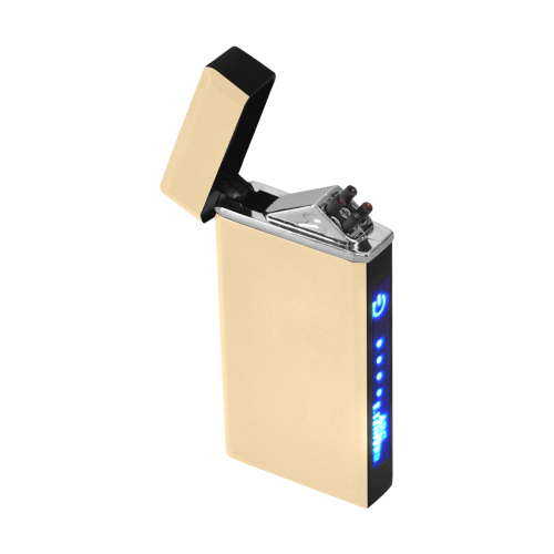 color navajo white Rectangular USB Lighter (Lateral Button)