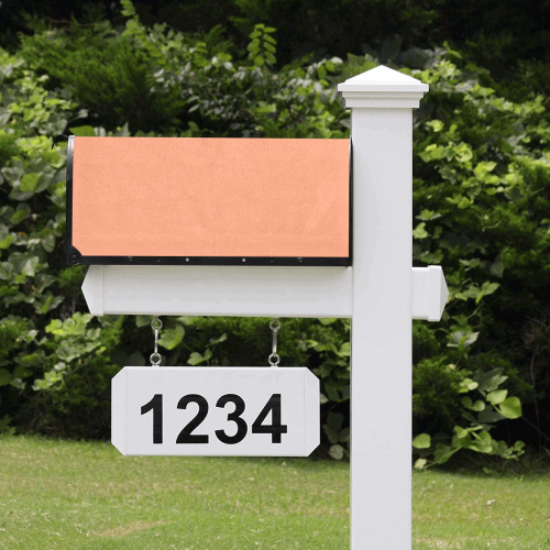 color light salmon Mailbox Cover