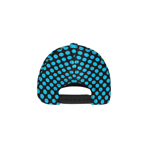 Blue Polka Dots All Over Print Dad Cap C (6-Pieces Customization)