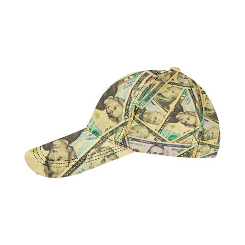 US DOLLARS All Over Print Dad Cap C (6-Pieces Customization)