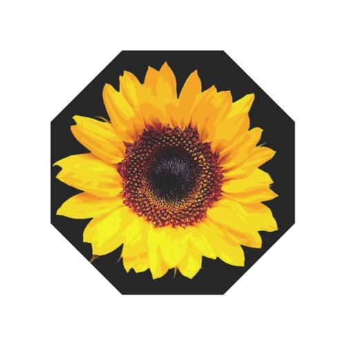 Sunny Sunflower - The Nature Is Shining Anti-UV Auto-Foldable Umbrella (Underside Printing) (U06)