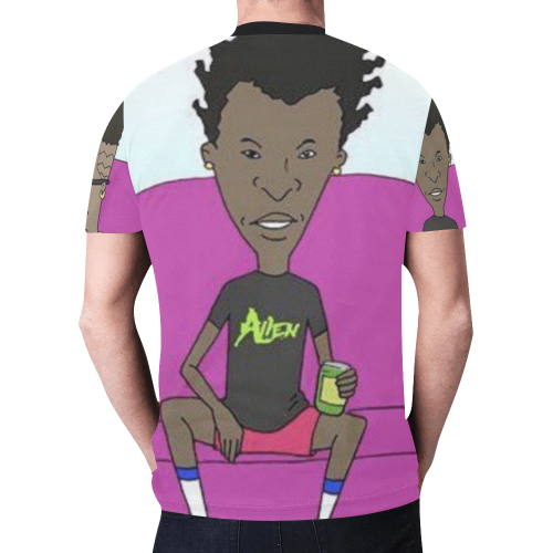 BEAVIS New All Over Print T-shirt for Men (Model T45)