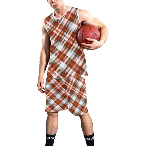 TARTAN-3 All Over Print Basketball Uniform