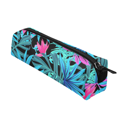 Pretty Leaves 4A by JamColors Pencil Pouch/Small (Model 1681)