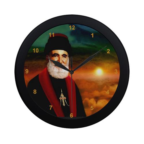 Mar Yosip Khnanisho Circular Plastic Wall clock