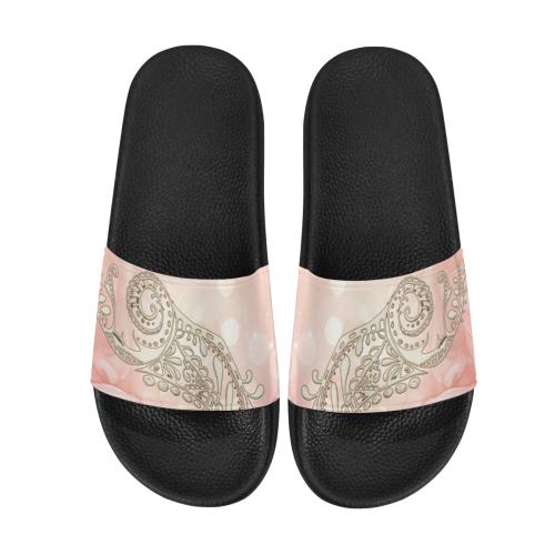 Wonderful flowers Women's Slide Sandals (Model 057)