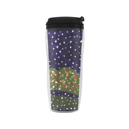 snowy roses Reusable Coffee Cup (11.8oz)