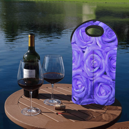 gorgeous roses J 2-Bottle Neoprene Wine Bag