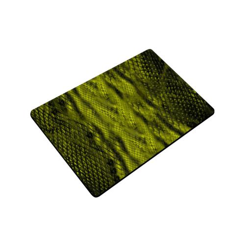 """savage13-green Doormat 24""""x16"""""""