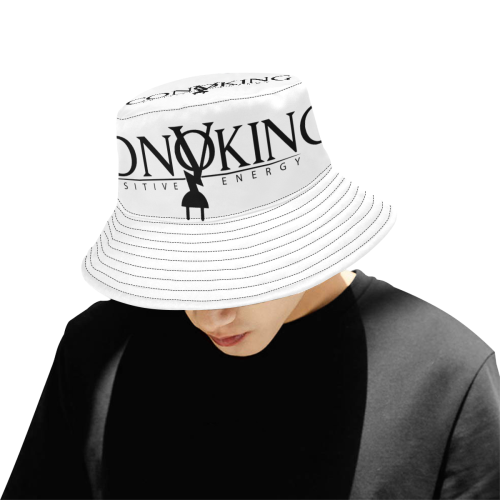 Convoking Positive Energy All Over Print Bucket Hat for Men