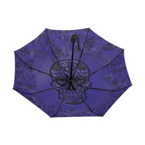 Skull20170227_by_JAMColors Anti-UV Auto-Foldable Umbrella (Underside Printing) (U06)