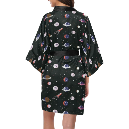 spaces galaxy Kimono Robe