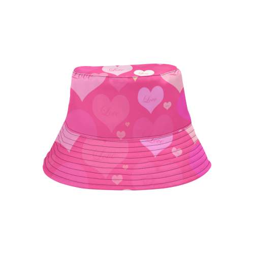 HeartsofLove All Over Print Bucket Hat