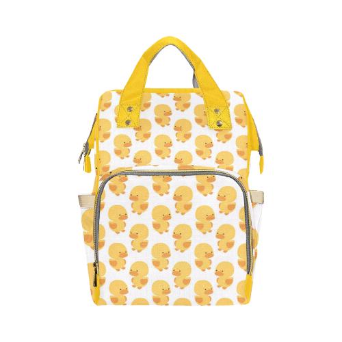 Darling Ducks Diaper Bag Multi-Function Diaper Backpack (Model 1688)
