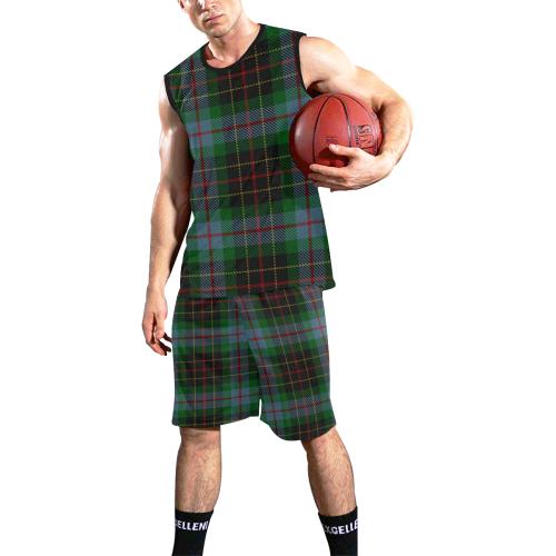 BRODIE HUNTING TARTAN 2 All Over Print Basketball Uniform