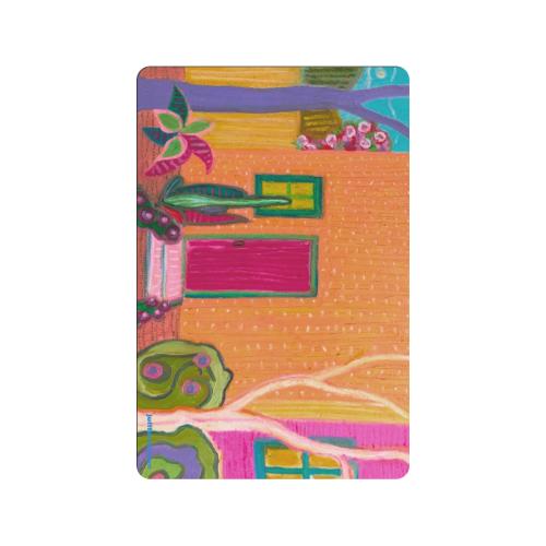 """Barrio Garden_1 Doormat 24""""x16"""""""