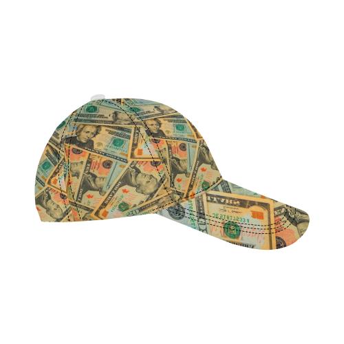 US DOLLARS 2 All Over Print Dad Cap C (7-Pieces Customization)