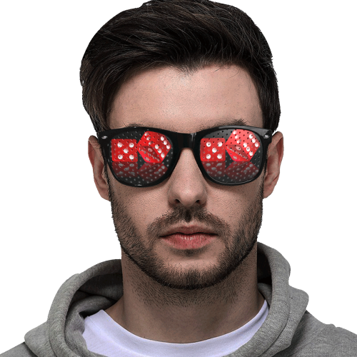 Las Vegas Dice Custom Goggles (Perforated Lenses)