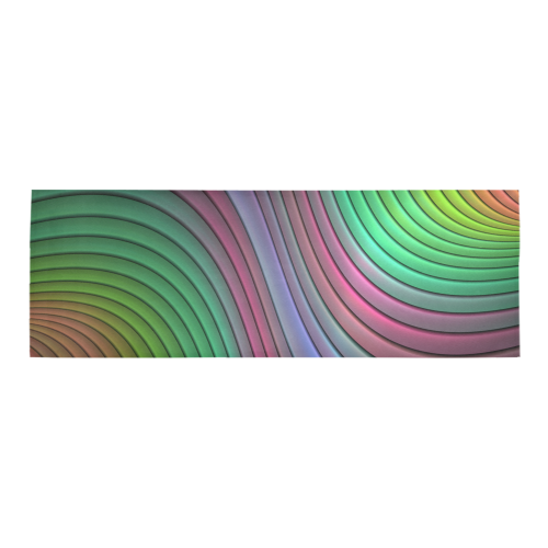 Curvitude Area Rug 10'x3'3''