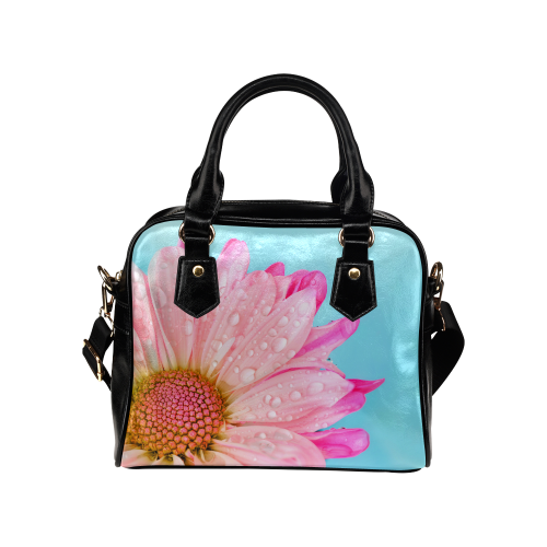 Flower Shoulder Handbag (Model 1634)