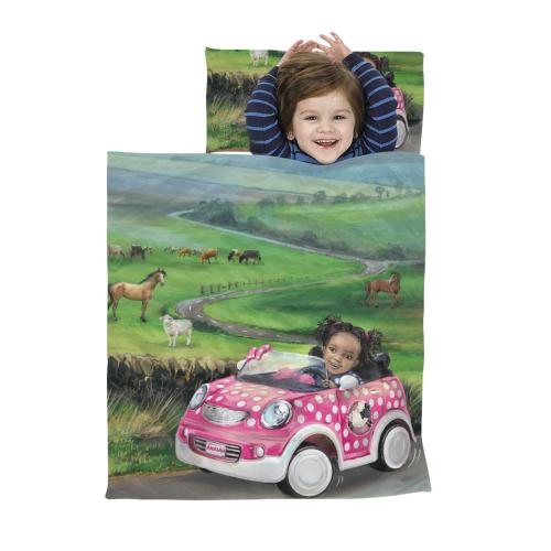 Sleep Bag Road Trip Kids' Sleeping Bag