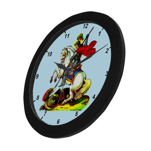 Mar Gewargis Circular Plastic Wall clock