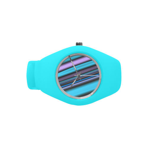 Cool Waves Simple Style Candy Silicone Watch (Model 315)