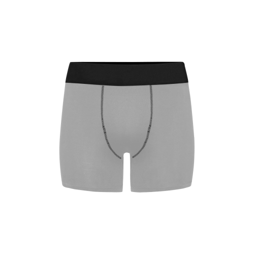 color dark grey Men's All Over Print Boxer Briefs (Model L34)