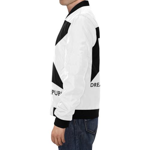 Men Jacket All Over Print Bomber Jacket for Men (Model H19)