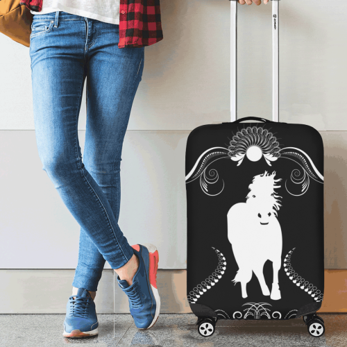 "White horse Luggage Cover/Small 18""-21"""