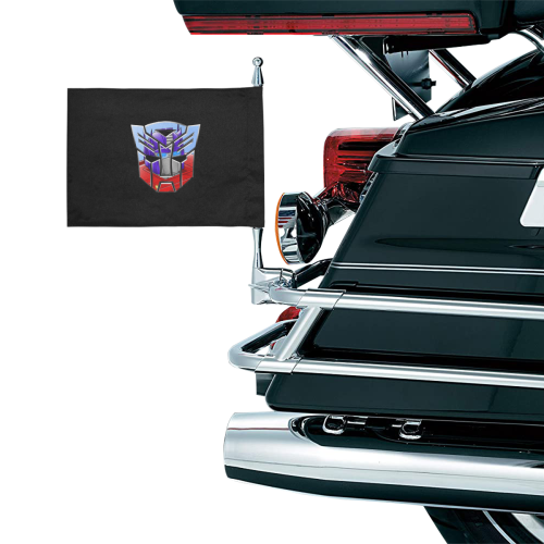 OPTIMUS Motorcycle Flag (Twin Sides)