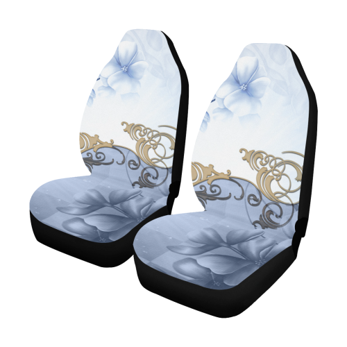Wonderful floral design Car Seat Covers (Set of 2)
