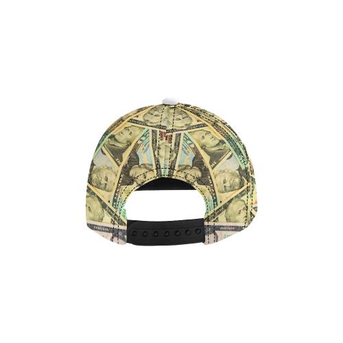 US DOLLARS All Over Print Snapback Hat D