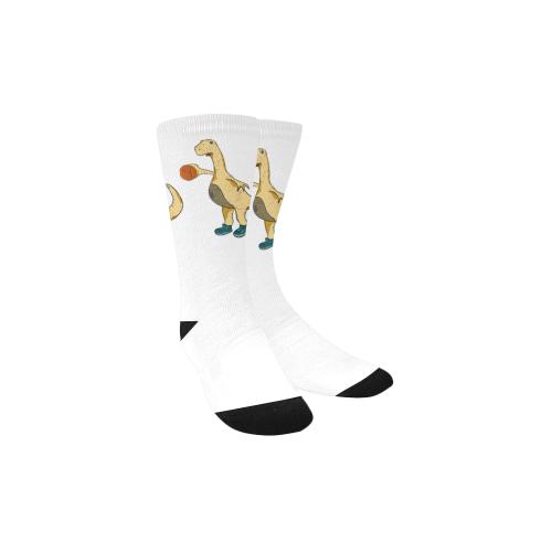 7 Foot Dunking Rex Custom Socks for Kids