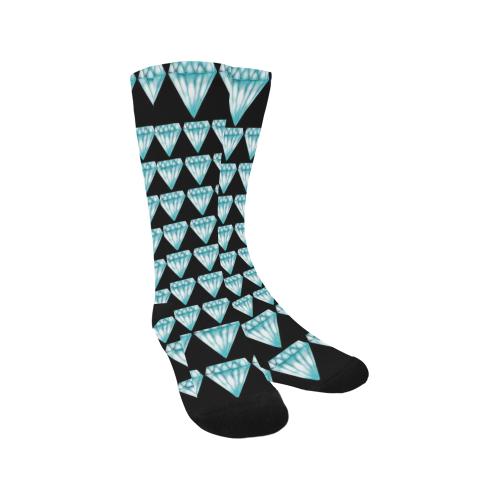 diamond Trouser Socks (For Men)