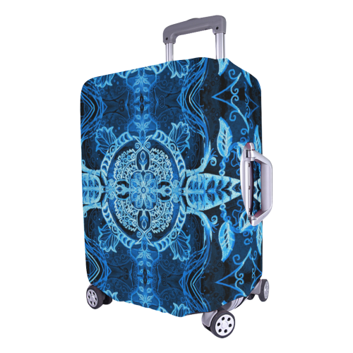 """floralie 15 Luggage Cover/Large 26""""-28"""""""