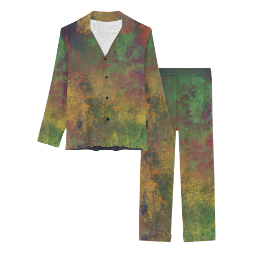 space1 Women's Long Pajama Set (Sets 02)