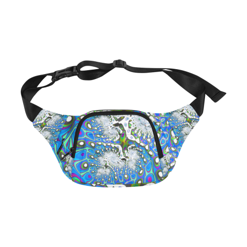 fractal fantasy 717B by JamColors Fanny Pack/Small (Model 1677)