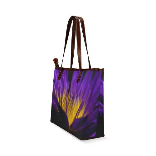 water lily 01 Shoulder Tote Bag (Model 1646)