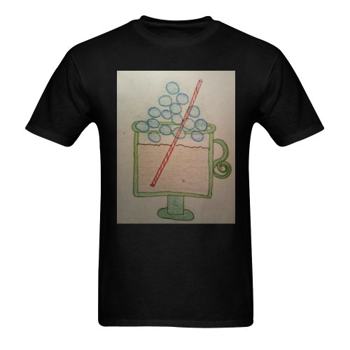 rootbeer float Men's T-shirt in USA Size (Front Printing Only) (Model T02)