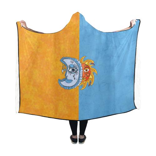 Solar Ecilpse Hooded Blanket 60''x50''