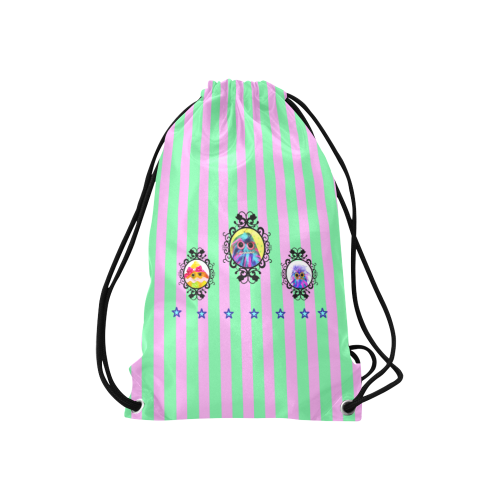 "Formation1 Small Drawstring Bag Model 1604 (Twin Sides) 11""(W) * 17.7""(H)"