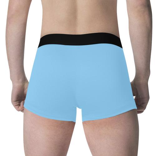 color light sky blue Men's All Over Print Boxer Briefs (Model L34)