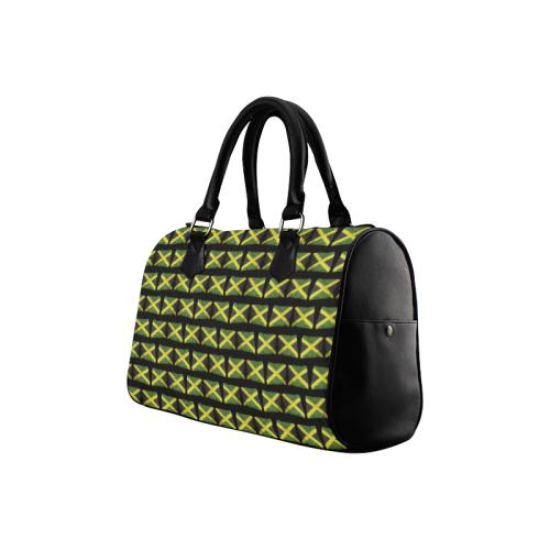 Jamaican Flags Boston Handbag (Model 1621)