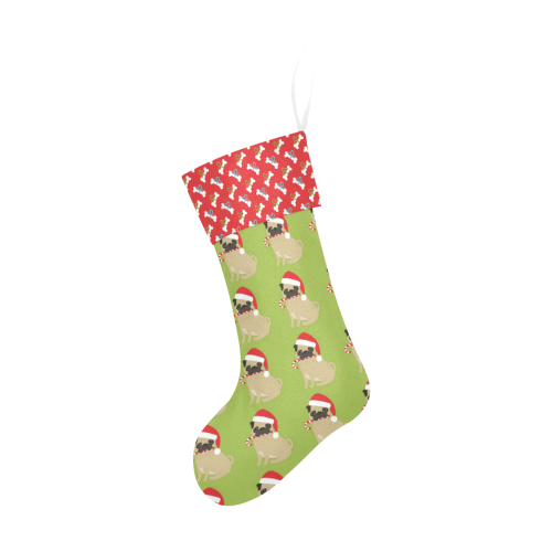 Pug Christmas Stocking Christmas Stocking