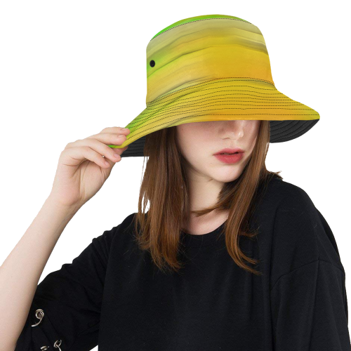 noisy gradient 2 by JamColors All Over Print Bucket Hat