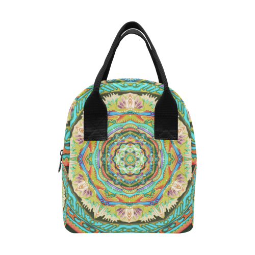 mandala tendre8 Insulated Zipper Lunch Bag (Model 1689)
