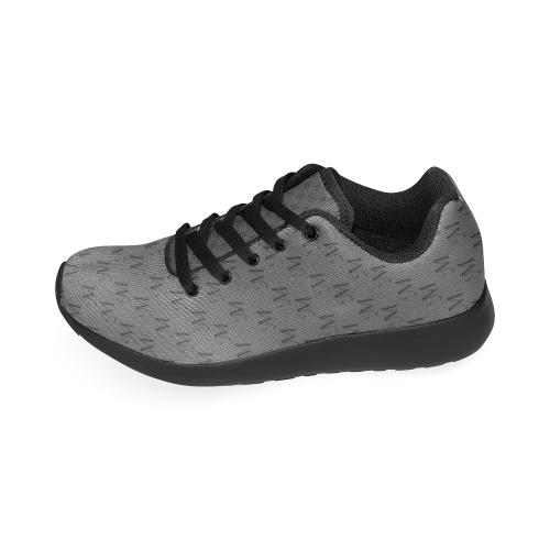 Mud-di Signature Smoky Gray Women's Running Shoes (Model 020)